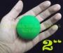 """Bola De Esponja Verde 2""""(Por Pieza)"""