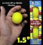 """Bolas De Esponja Super Suave Amarilla 1.5""""-Paquete Con 4"""