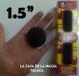"""Bolas De Esponja 1.5"""" Con 4-Negro"""