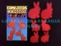 Conejitos Mágicos-Rojos