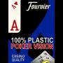 Fournier Cartas Plásticas Indice Jumbo (Azul)