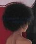 Peluca China Chica Afro-Negro