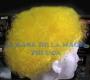 Peluca China Chica Afro-Amarillo