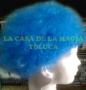 Peluca China Chica Afro-Azul