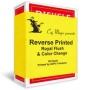 Reversed Printed Royal Flush & Color Change