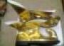 Zapatos De Arlequín Dorados