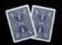 Carta Gaff-Dorsos Azul/Azul