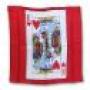 Seda Carta Rey De Corazones/Rojo 18