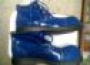 Zapatos Para Payaso Charol Azul