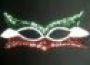 Antifaz De Lentejuela-Tricolor