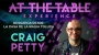 At The Table (Conferencia)-Craig Petty/DESCARGA DE VIDEO