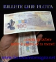 Billete que flota