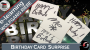 Birthday Card Surprise Por:Wolfgang Riebe/DESCARGA DE VIDEO