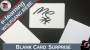Blank Card Surprise Por:Wolfgang Riebe/DESCARGA DE VIDEO