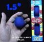 Bolas De Esponja Super Suave Azul 1.5