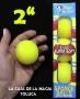 Bolas De Esponja Super Suave Amarillo 2