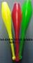 Clavas Básicas Para Malabares-Verde/Rojo/Amar