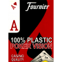 Fournier Cartas Plásticas Indice Jumbo (Rojo)