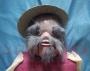 Muñeco Ventrílocuo- Granjero Con Sombrero