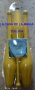 Juggling Set (3 Clavas Sin Decorar y DVD)Amarillo Por:Zyko