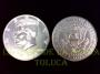 Moneda Jumbo Medio Dólar (cada una)