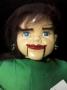 Muñeco Ventrílocuo-Niña Ojos Azules