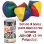 Pelotas Para Malabares (3) Tamaño Junior