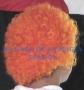 Peluca China Chica Afro-Naranja
