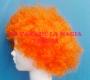 Peluca China Mediana Afro-Naranja
