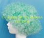 Peluca China Mediana Afro-Verde