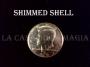 Shell De Medio Dólar Metálico (Cara)
