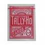 Tally Ho Fan Back Tamaño Poker (Rojo)