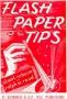 Tips Con Papel Flash Por:S. Robson and R. W. Read
