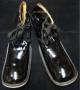 Zapatos Para Payaso Largos De Charol Negro