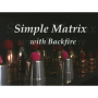 A New Simple MatrixPor:Dean Dill/DESCARGA DE VIDEO