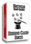 Baraja Elevador (Rising card Deck)-Rojo