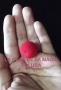 Bola De Esponja Mini Regular-Rojo