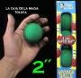 """Bolas De Esponja Super Suave Verde 2""""- Paquete con 4"""