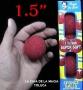 """Bolas De Esponja Super suave Rojo 1.5"""" -Paquete Con 4"""