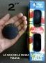 "Bolas De Esponja Super Suave Negro 2""- Paquete con 4"