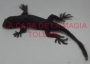 Iguana Chica De Hule-Negro