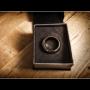 Kinetic PK Ring (Plata) Curvo Medida:8 Por:Jim Trainer