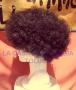 Peluca China Afro Jumbo-Negro