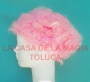 Peluca China Chica Afro-Rosa