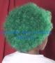 Peluca China Chica Afro-Verde