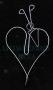 Rompecabezas De Alambre-Corazón y Flecha