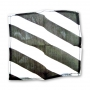 "Seda Zebra 9"" (Blanco y Negro) Por: Uday"